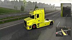کامیون اسکانیا T نسل بع...