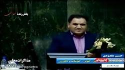 ابتکار نماینده سبزوار برای انتقاد از وزرای دولت، در صحن مجلس