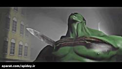مبارزهٔ ثانوس و پروفسور هالک در فیلم انتقام جویان ۴ پایان بازی چگونه خواهد بود!