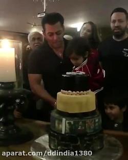 جشن تولد سلمان خان
