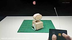 ساخت ربات کوچک و هوشمند WALL-E