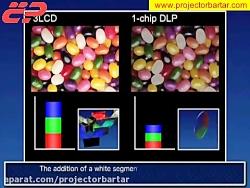 تفاوت تکنولوژی dlp و 3lcd و...