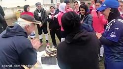 جشن تولد نصرت ایراندوس...