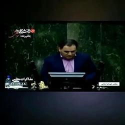 تقدیم گل به وزرای دولت ...