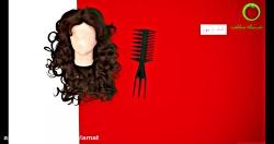 شانه و برس مناسب مو