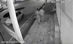 فیلم سقوط خودرو در کانا...