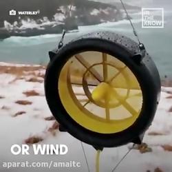 توربین قابل حمل waterlily