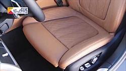 نمای داخلی خودرو لوکس BMW 7 Series