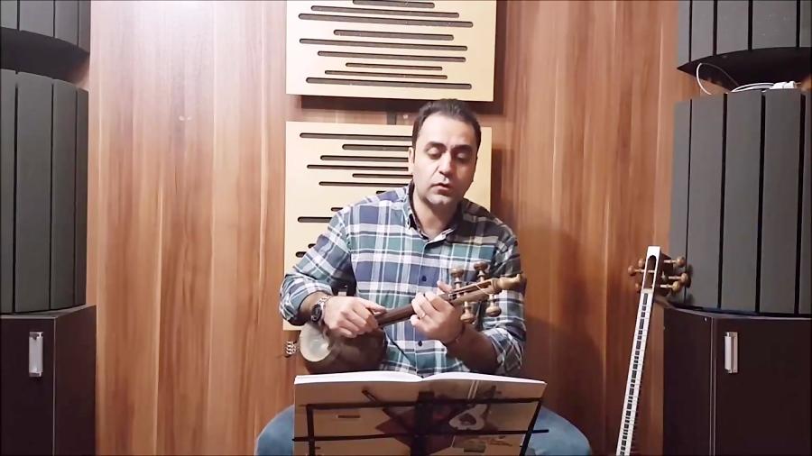 فیلم آموزش ای وطن محمد نوری گلچین آهنگها ایمان ملکی کمانچه