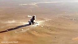 فیلم کمتر دیده شده از حمله انتحاری داعش به ارتش سوریه در دیرالزور