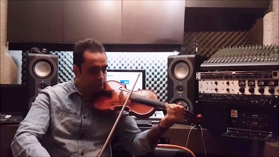 آموزش ویلن گلچین آهنگ ها بیا بنویسیم مهستی  ایمان ملکی.mp4