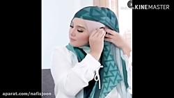 آموزش ایده بستن شال روسری
