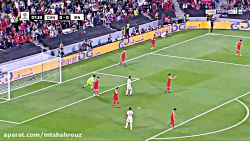 مسابقه فوتبال تیم ملی ا...