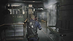 RESIDENT EVIL 2 REMAKE Walkthrough Gameplay Part 3 - DR. BIRKIN BOSS (RE2 LEON)