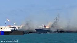 رزمایش دریایی و هوایی روسیه در دریای سیاه برای مقابله با آمریکا
