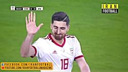 خلاصه بازی تیم ملی ایران و چین - یک چهارم نهایی جام ملتهای آسیا ۲۰۱۹