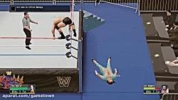 مجموعه گیم پلی بازی کشتی کج 2016 (WWE 2K16) قسمت 4