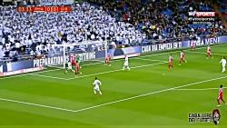 رئال مادرید ۴ خیرونا ۲ ، خلاصه بازی رئال مادرید و خیرونا