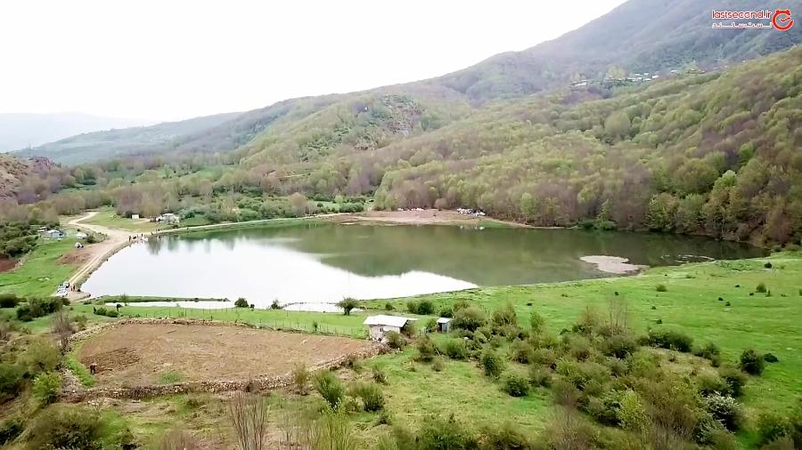 اوج آرامش در دریاچه ویستان ایران