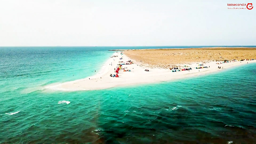 زیبایی های باورنکردنی جزیره ای در جنوب ایران!