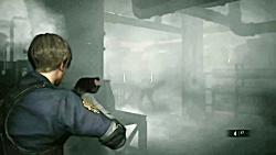 گیم پلی بازی Resident Evil 2 Remake - قسمت دوم - Leon