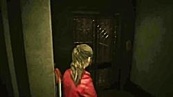 گیم پلی بازی Resident Evil 2 Remake - قسمت دوم - Claire