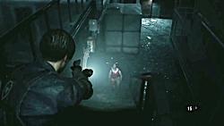 گیم پلی بازی Resident Evil 2 Remake - قسمت سوم - Leon