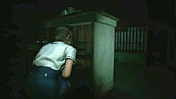 گیم پلی بازی Resident Evil 2 Remake - قسمت سوم - Claire