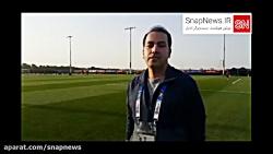 فیلم گزارش تیم ملی فوتب...
