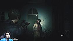 پارت دوم بازی رزیدنت اویل 2 این دیگه چیه | resident evil 2 remake part 2