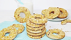 لذت آشپزی - طرز تهیه دونات نان