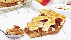لذت آشپزی - پای سیب با کارامل