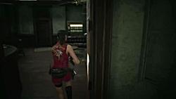 گیم پلی بازی Resident Evil 2 Remake - قسمت چهارم - Claire