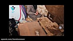 غارنشینی 7 ساله یک مادر و دختر در تهران!