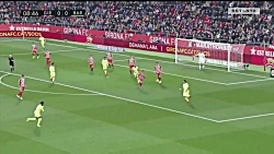 خلاصه بازی خیرونا 0 - بارسلونا 2 - لالیگا اسپانیا