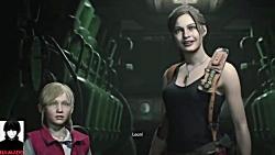 ENDING Resident Evil 2 remake Leon