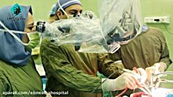 فیلم عمل جراحی تومور مغزی بدون بیهوشی در بیمارستان ابن سینا