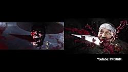 مقایسه تریلر سینمایی و گیم پلی Mortal Kombat 11