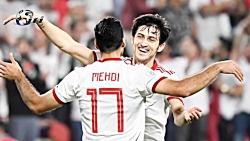 ایران در مقابل ژاپن جام ملتهای آسیا