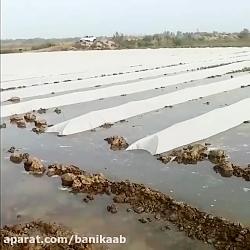 سیل و مزارع کشاورزان خوزستان
