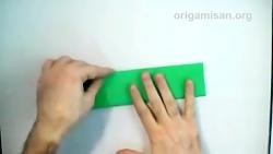 اوریگامی تیشرت - آموزش ساخت تیشرت کاغذی