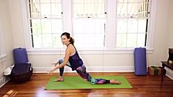 آموزش تمرینات یوگا برای چربی سوزی و کالری سوزی و کاهش وزن