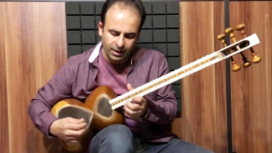فیلم آموزش درس ۱۰ کوچه لره سوسپمیشم آهنگ محلی آذربایجان تار و ترانه نیما فریدونی تار