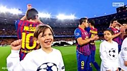 بازی بارسلونا 2-2 چلسی سال 12-2011 لیگ قهرمانان اروپا