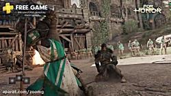 ویدیو نمایش بازی های رایگان پلی استیشن 4 PS Plus - زومجی