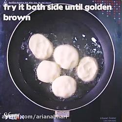 لذت آشپزی - طرز تهیه نان شیرمال