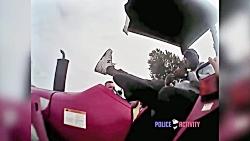 خفه کردن یک متهم توسط افسر پلیس آمریکا