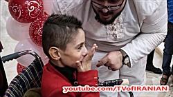 ازدواج جالب این پسر 7 ساله خوزستانی با دختر 20 ساله! + عکس
