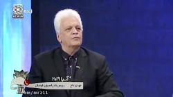 درگیری لفظی شدید مهدی تاج و امین حاج رضایی در برنامه زنده