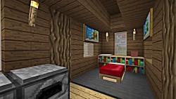 آموزش ساخت خانه برای زنده ماندن در ماینکرافت (2)